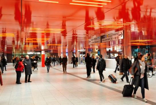 Wwwbahninfode Das Neue U Bahn Geschoss Marienplatz Ist